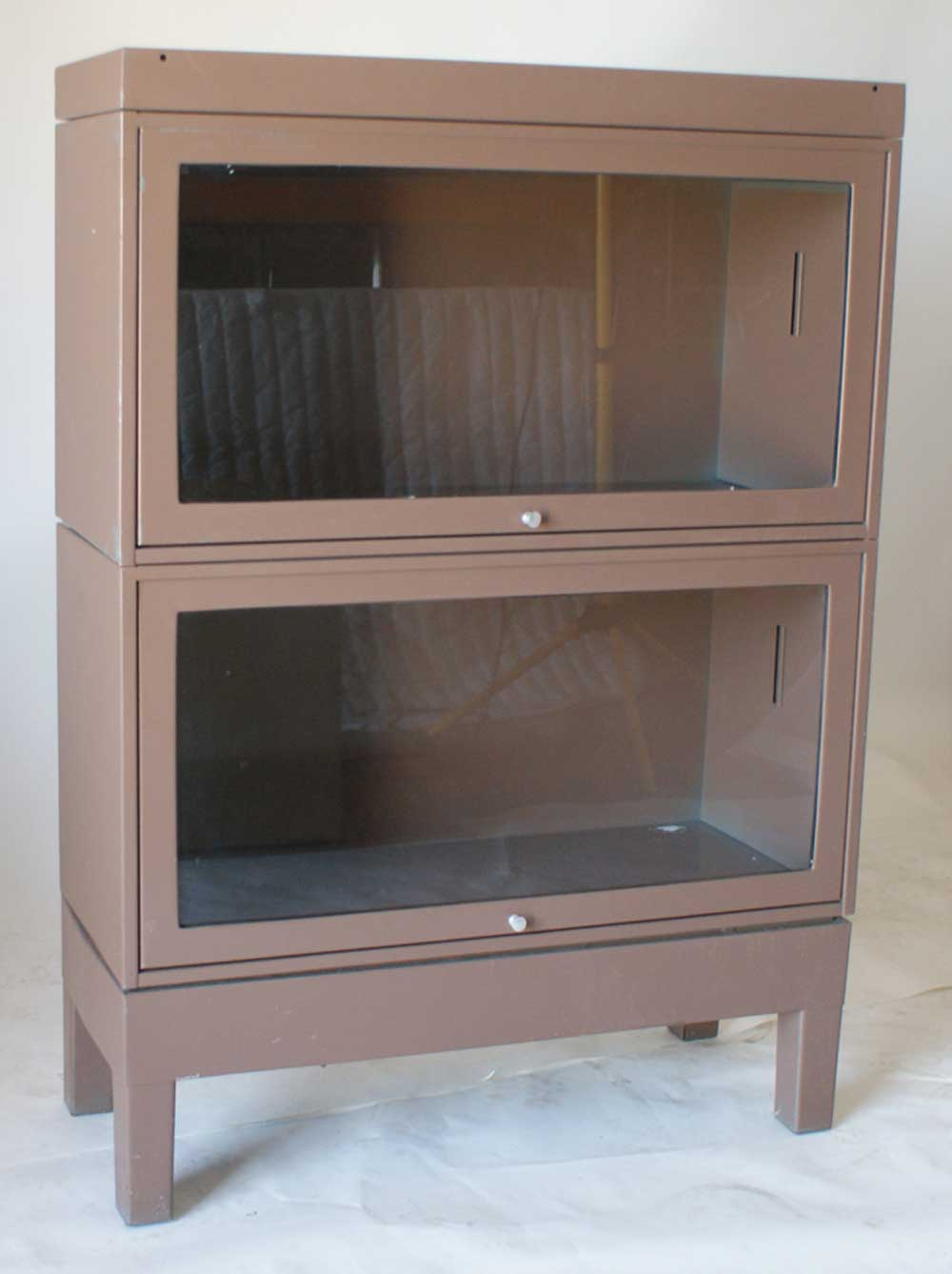 Metal Barrister Bookcase To Improve Room Beauty