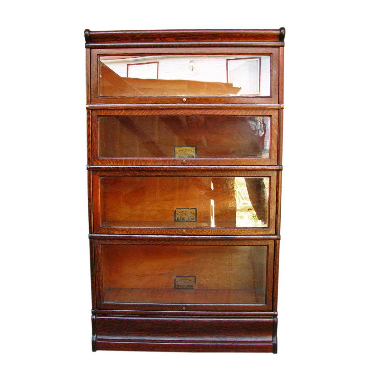 Oak Barrister Bookcase to Organize Your Books