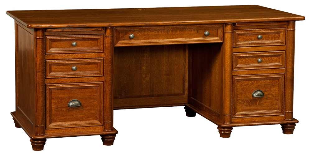 Amish Belmont Executive Computer Desks
