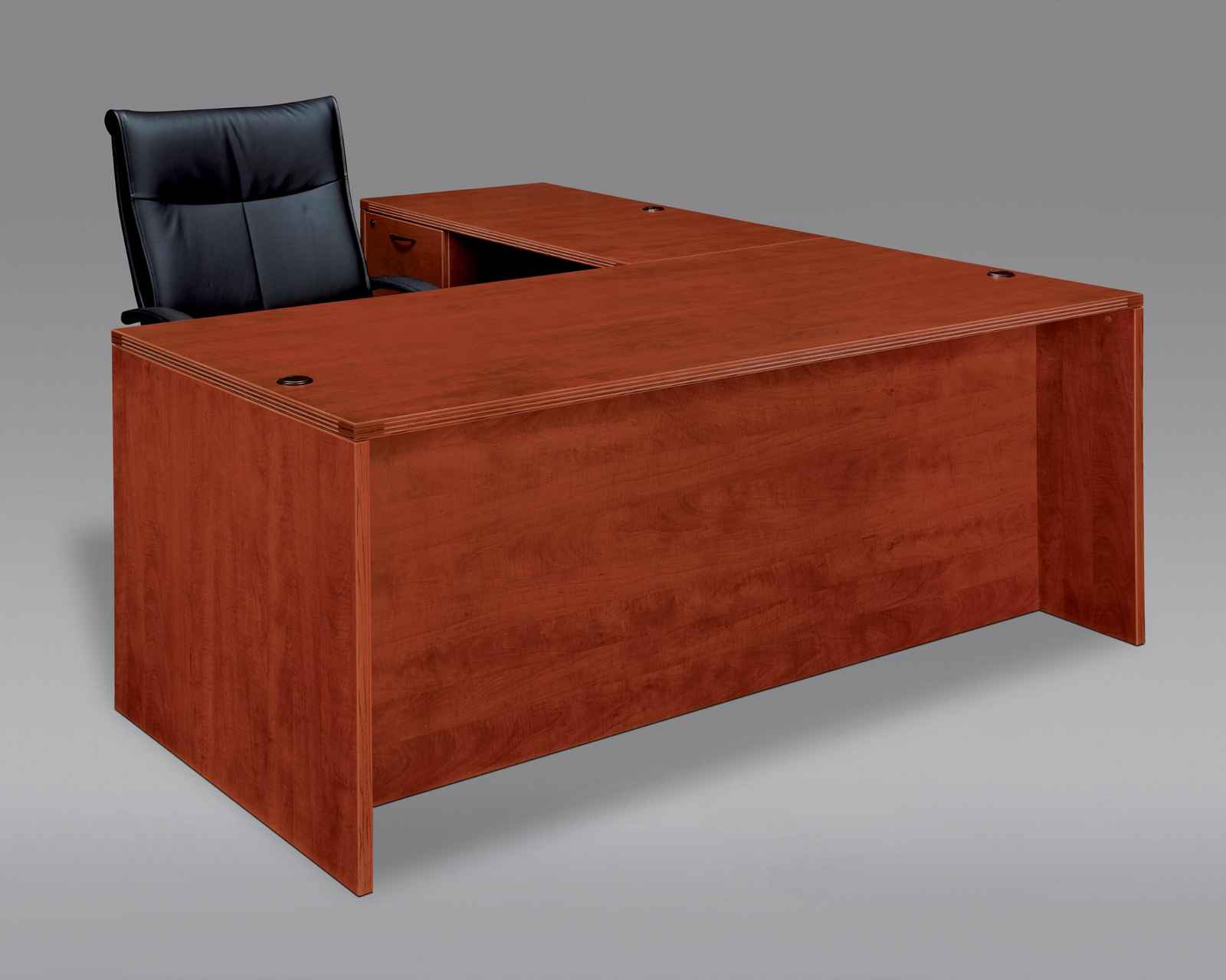 L-Shaped Work Desk for Home Office