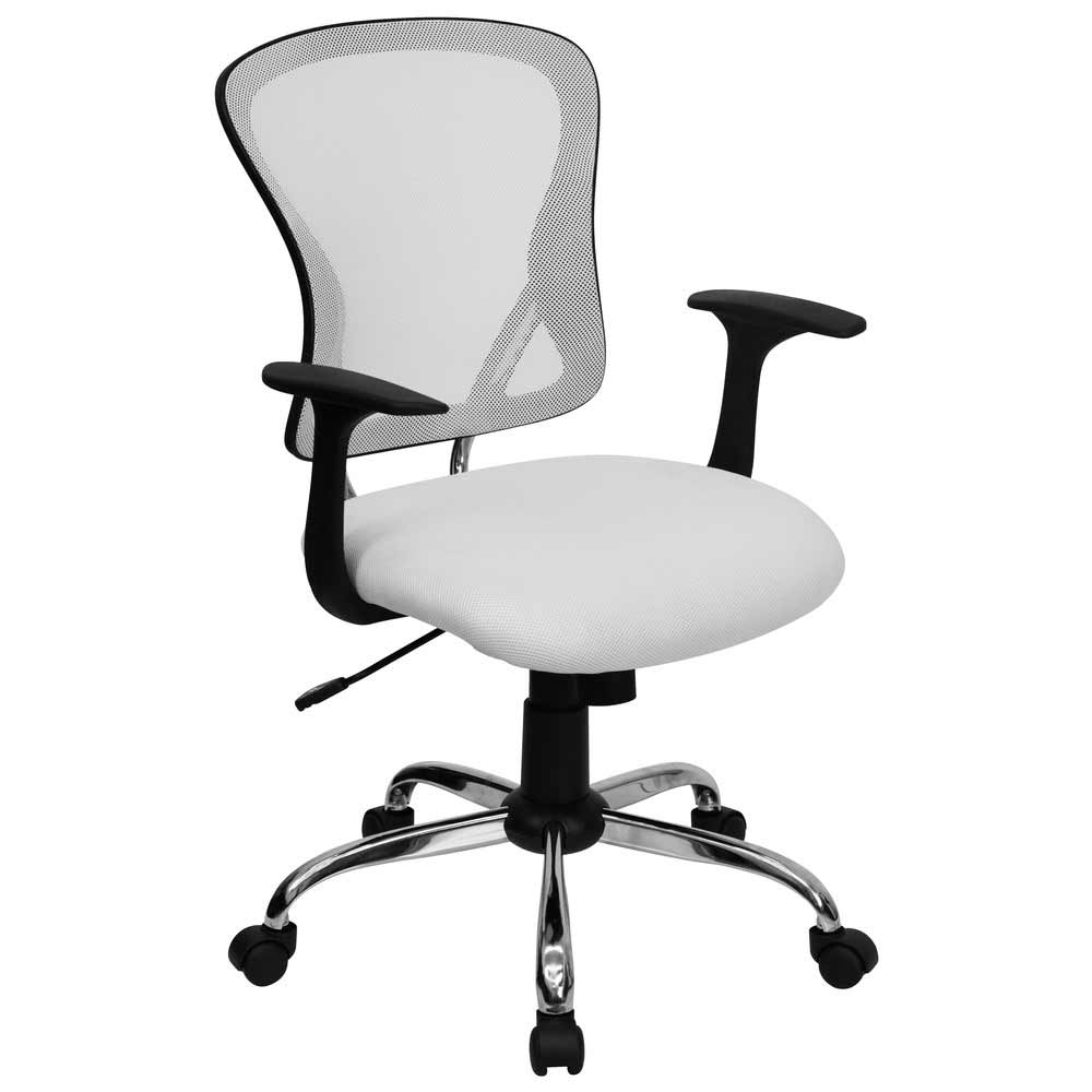 White Mesh Office Chair for Executive
