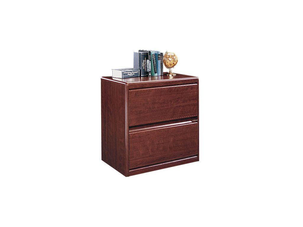 Sauder Lateral Storage Cabinets in Cherry