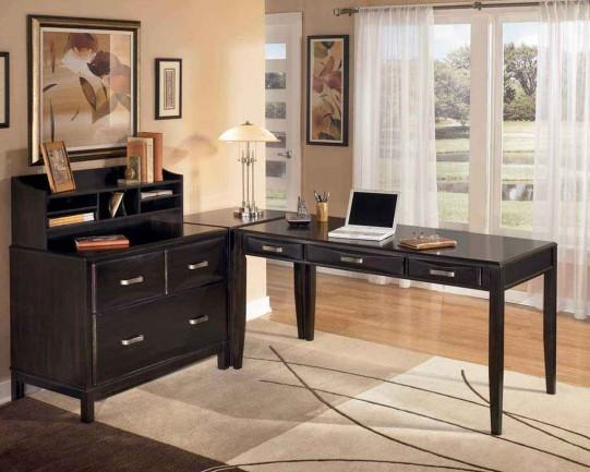 Modular Black Home Desk Ideas