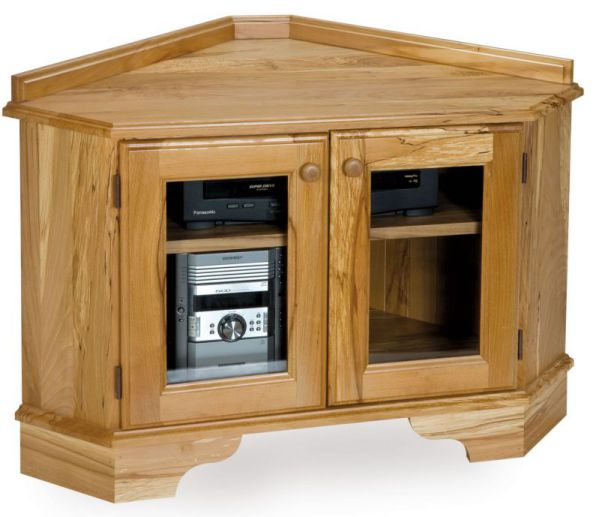 Small Corner Armoire With Multi Functionalities