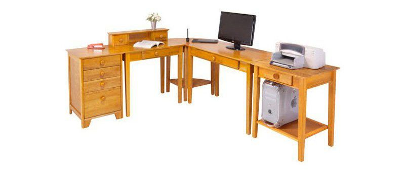 Winsome Studio 5 Piece Branded Office Furniture Desk Set