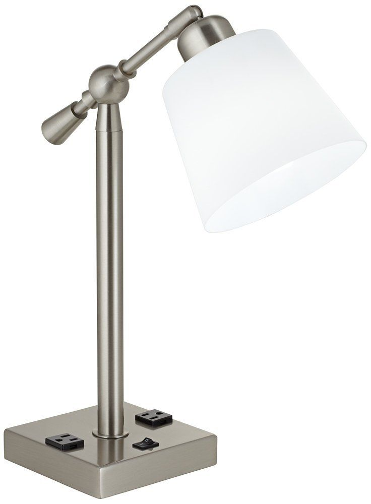Desk Lamp With Outlet For Home Office Desk