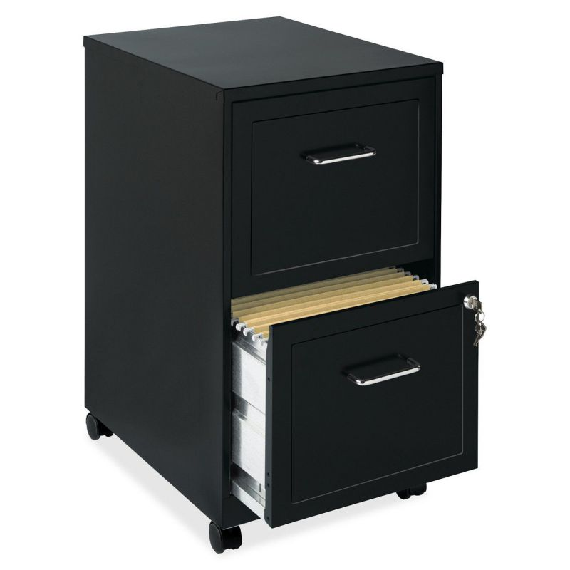black file cabinet size filing cabinet for modern office interior 12362